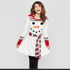 NWT Snowman Dress